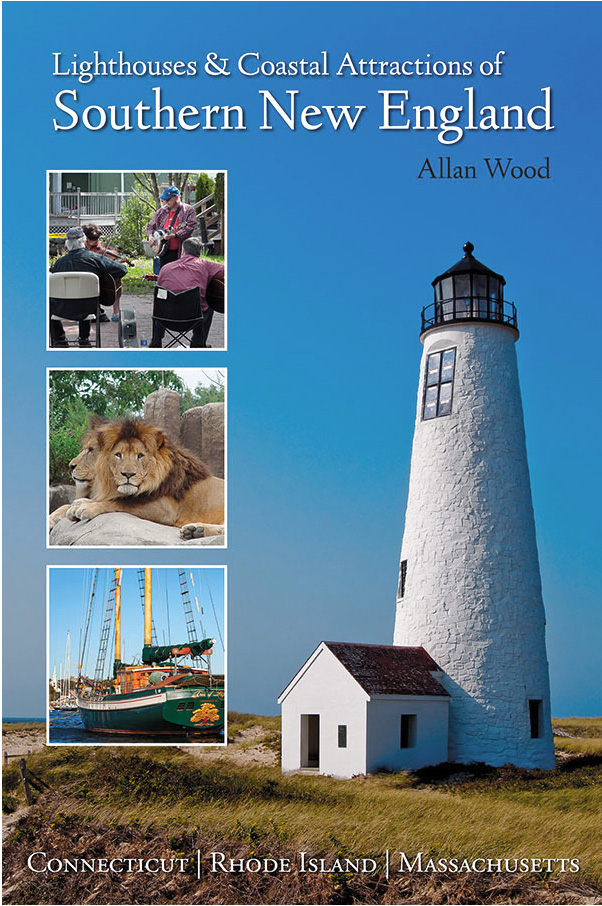 book about lighthouses and attractions in southern New England
