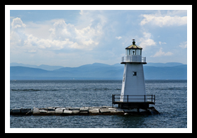 burlington breakwater lighthouse