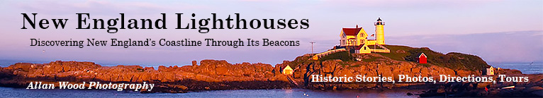 new england lighthouses main banner